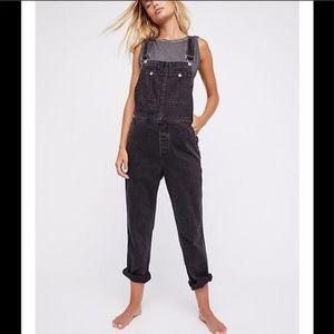 Free People The Boyfriend Overalls